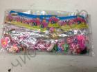 Аксессуары для плетения браслетов из резинок Подвески в пакетиках по 12 шт.